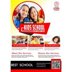 kids school flyer INNO