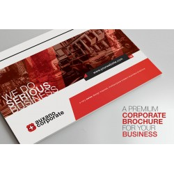 Auxano Modern Corporate Brochure Template