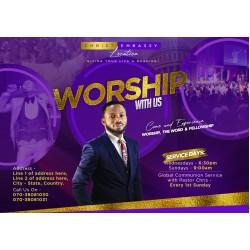 2020 Church Service Invite