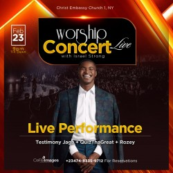 2020 Worship Concert Live Template