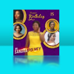 A Birthday Design Template KRI