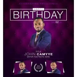 birthday_camyye Concept Birthday Template Design