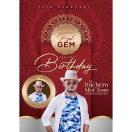 2020 A Royal Birthday Design Template