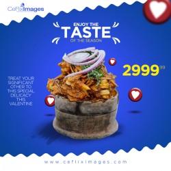 2020 Valentine Nigerian Food Flyer
