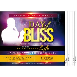 Day of Bliss Invite Template