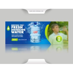 A Drinking Water Flyer Design Template
