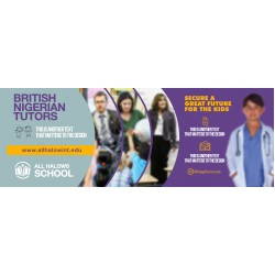 A School Tutors Advert Design Template
