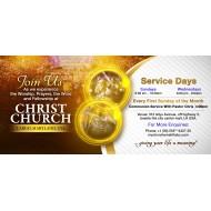 A Church Lights Invite Design
