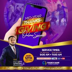 2020 Mid-Year ThanksGiving Online Service eInvite 2