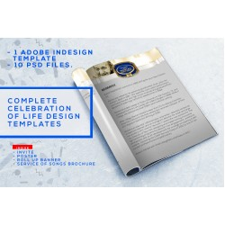 A Complete Celebration of Life Design Package