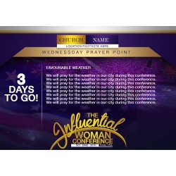 Influential Woman Conference Media Designs