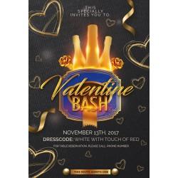 Valentine Bash Flyer
