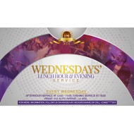 Wednesday Service Invite Template Design