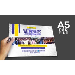 Wednesday Service Invite Template