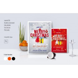 Christmas & New Year Card (3-in-1)