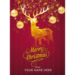 Christmas Card Reindeer Edition 3-in-1