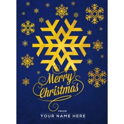 Christmas Card Design SnowFlake Edition 3-in-1