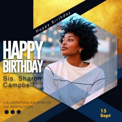 Shaped birthday design flyer