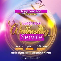 wed service invite