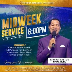 Pastor wednesday service 001