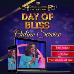 Church service invite