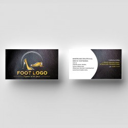 shoe maker complimentry card