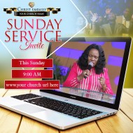 sunday service online invite