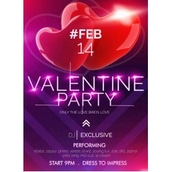 Valentine Party invite