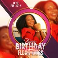 Flora Birthday