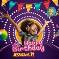Happy girl birthday