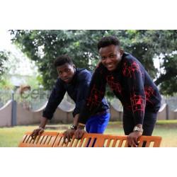 Outdoor African young men