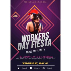 Workers day fiesta