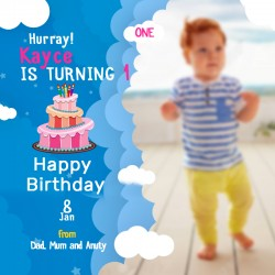 Baby Birthday design