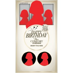 Beautiful Birthday flyer