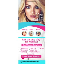 Beauty Saloon Flyer (Roll Up Banner)