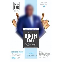Birthday Template Design 07