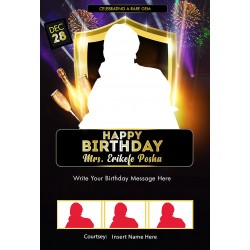 Birthday template design 09