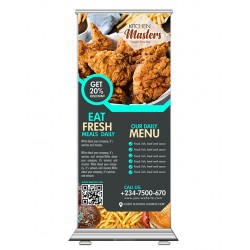 Business Sales Roll Up Banner