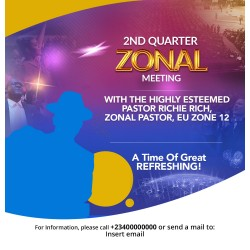 Church Meeting Flyer