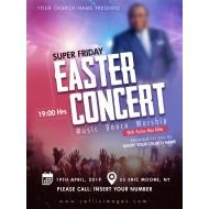 Easter Concert Flyer