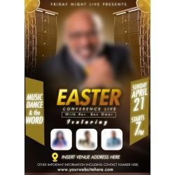 Easter Conference Live Flyer