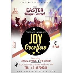 Easter Music Concert Flyer