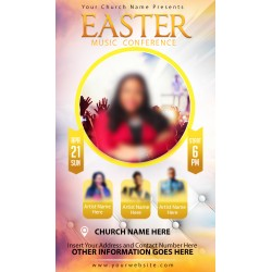 Easter Music Conference Flyer