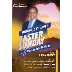Easter Sunday Flyer Design