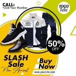 Fashion sales flyer