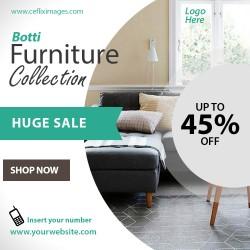 Furniture sales flyer