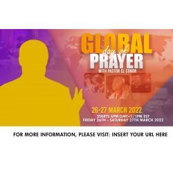 Global Day Of Prayer Flyer