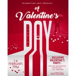 Special Valentine Bash Flyer