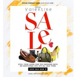 Special Valentine Sales Flyer