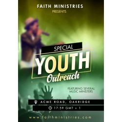 Special Youth Outreach Flyer